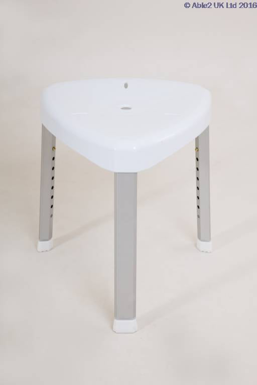 Able2 Atlantis Corner Shower Stool PR46054