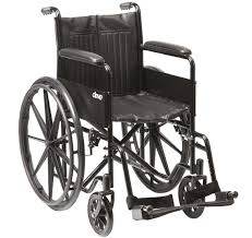 Drive Medical S1 Self Propelling Steel Wheelchair CS1142SPMAG