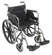 Aidapt Deluxe Self Propelled Steel Wheelchair VA167