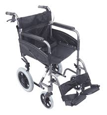 Aidapt Compact Transport Aluminium Wheelchair VA170