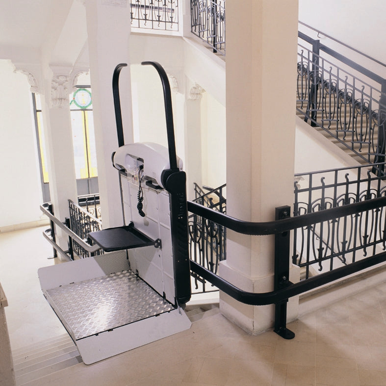 Vimec V65 Curve Wheelchair Platform Lift Outdoor and Indoor