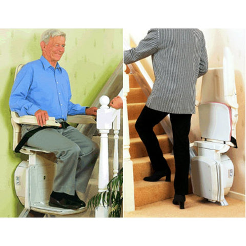 A Reconditioned Straight Stairlift
