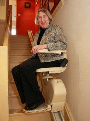 Hire Stairlift Straight Fully Installed