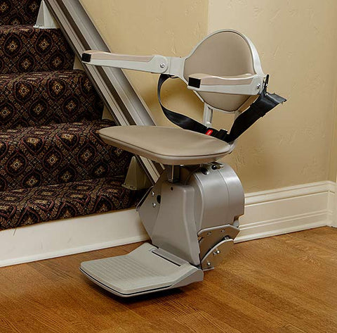 Bruno Elan Straight Standard and Heavy Duty Elite Stairlift