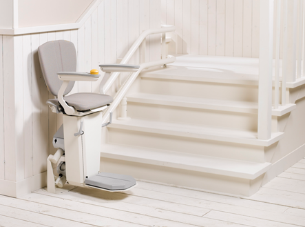 Otolift 2 Curved Stairlift, Standard and Heavy Duty