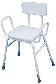 Aidap Malling Perching Stool with Padded Back (VG837 )