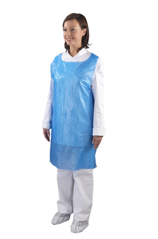 B & M Disposable Plastic Aprons On Roll - 200 Pack