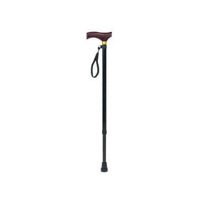 Aidapt Extending Walking Stick With Wooden Handle ( VP155K )