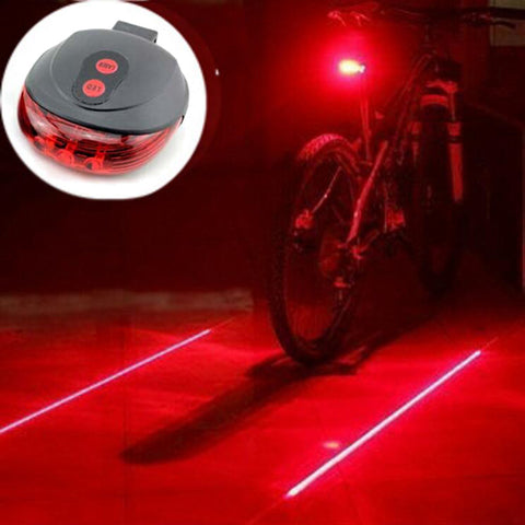 Laser Bicycle Rear Light