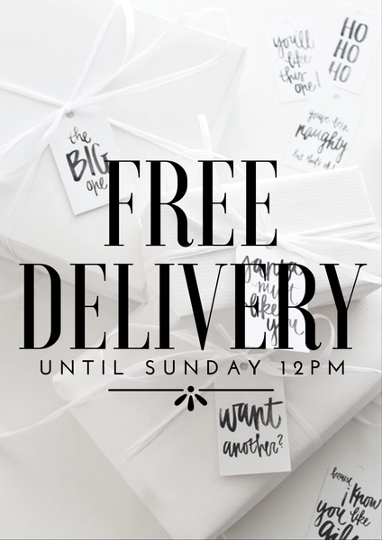 News Update - FREE DELIVERY!!