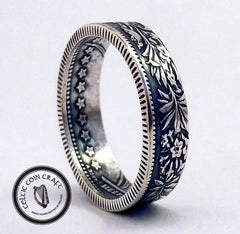Celtic Coin, Ring, Stars, Floral, Flower Rings, Haul, Freebies, prize