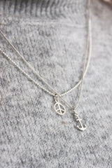 Peace Necklace, Necklaces, saltandco