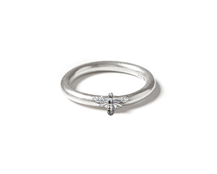 Mini Bee Stacking Ring, Rings, saltandco