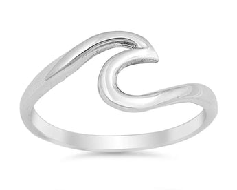 Salt & Co. Wave Ring, Rings, saltandco