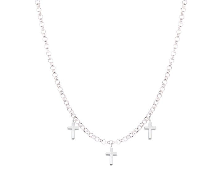 Cross Necklace, Necklaces, saltandco