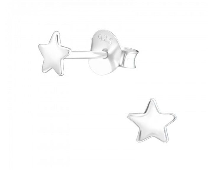 Star Stud Earrings, Earrings, saltandco