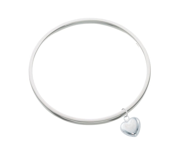 Puff Heart Bangle