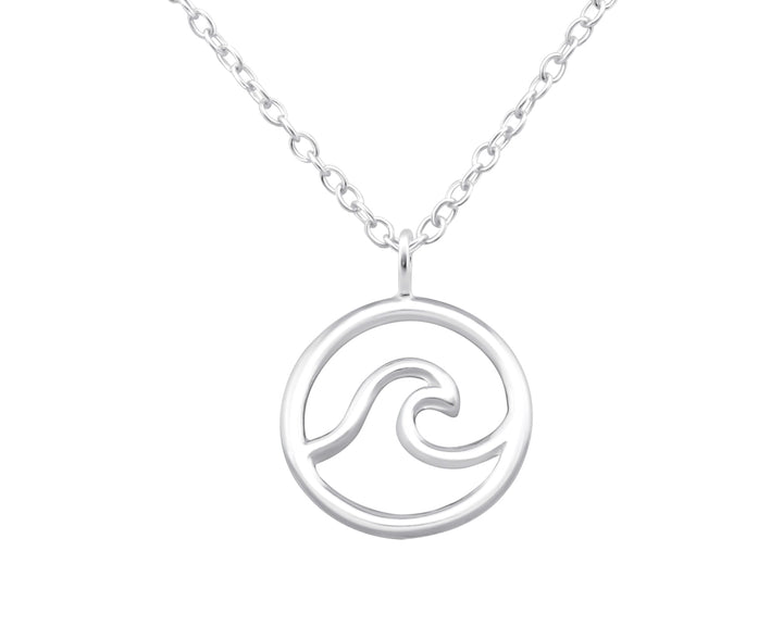 Wave Necklace, Necklaces, saltandco
