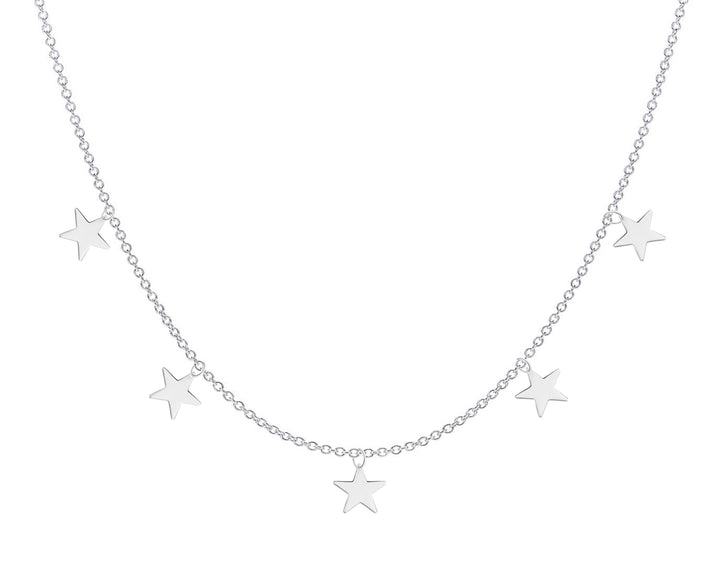 5 Star Necklace, Necklaces, saltandco