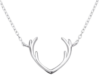 Stag Necklace, Necklaces, saltandco