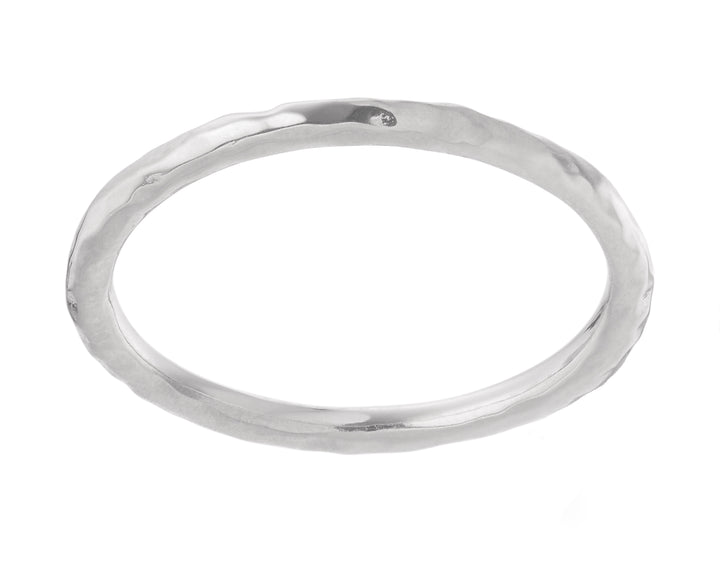 Hammered Stacking Band, Rings, saltandco