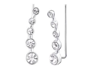 Crystal Climber Earrings