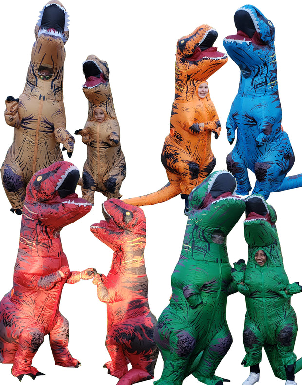 INFLATABLE T-REX COSTUME - Unspeakable Merchandise