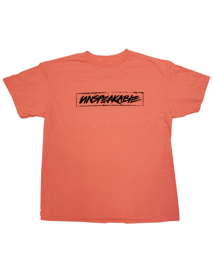 CORAL CROUCHING ICON T-SHIRT - Unspeakable Merchandise