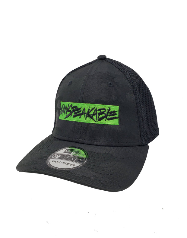 BLACK CAMO HAT - Unspeakable Merchandise