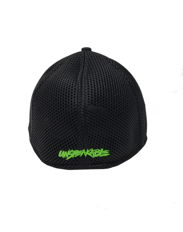 BLACK CAMO HAT - UnspeakableGaming