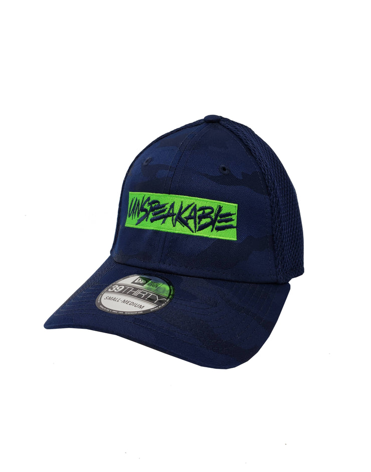 NAVY CAMO HAT - UnspeakableGaming