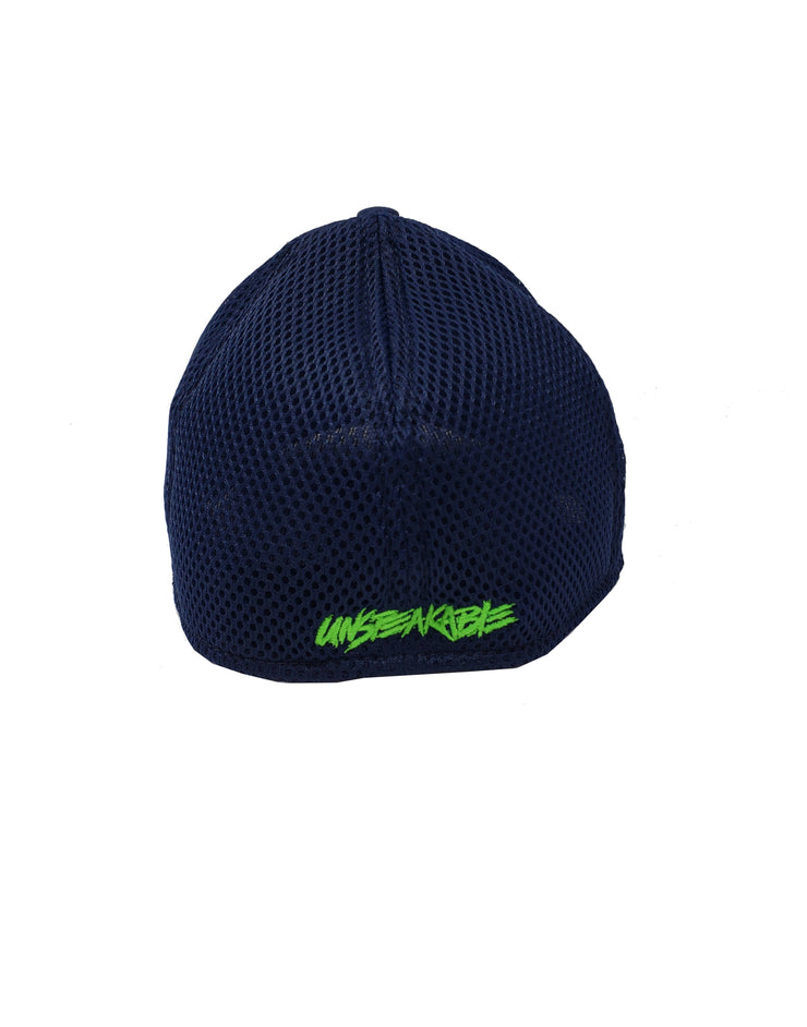 NAVY CAMO HAT - Unspeakable Merchandise