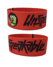 "7.5"" WAVING ICON CLOTH WRISTBAND - Unspeakable Merchandise"