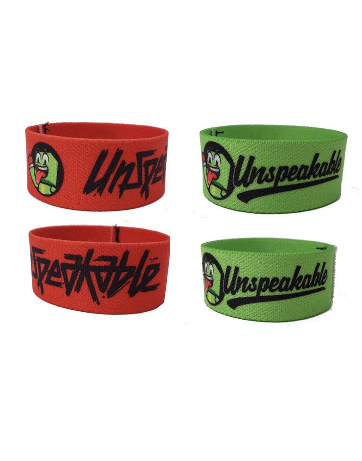 "7.5"" WAVING ICON CLOTH WRISTBAND - UnspeakableGaming"