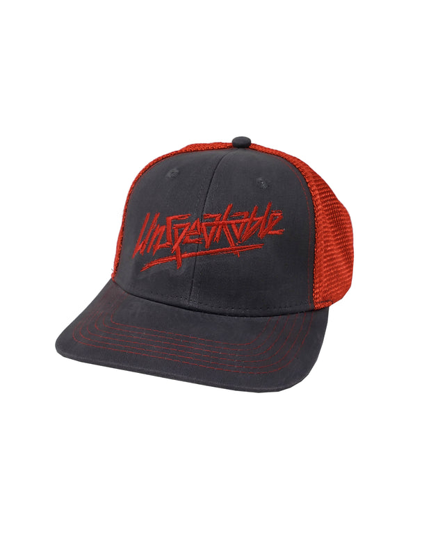 GREY & RED HAT - Unspeakable Merchandise