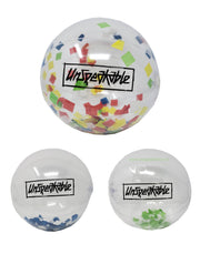 "16"" CONFETTI BEACH BALL - Unspeakable Merchandise"