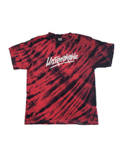 RED TIGER STRIPED T-SHIRT - UnspeakableGaming