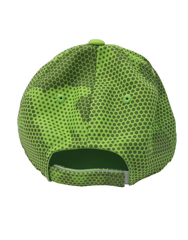 LIME CAMO HEX HAT - UnspeakableGaming