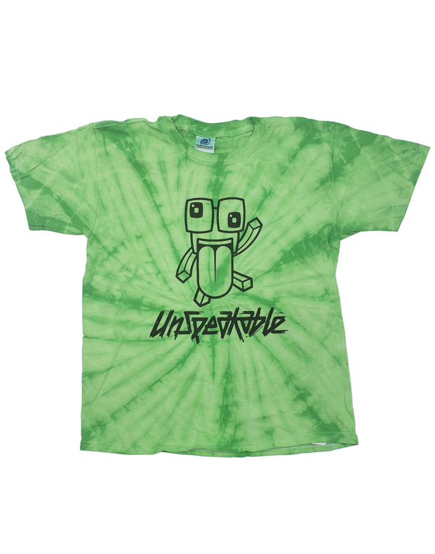 SPIDER LIME TIE DYE T-SHIRT - UnspeakableGaming