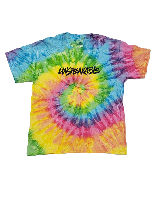 SATURN TIE DYE T-SHIRT - UnspeakableGaming