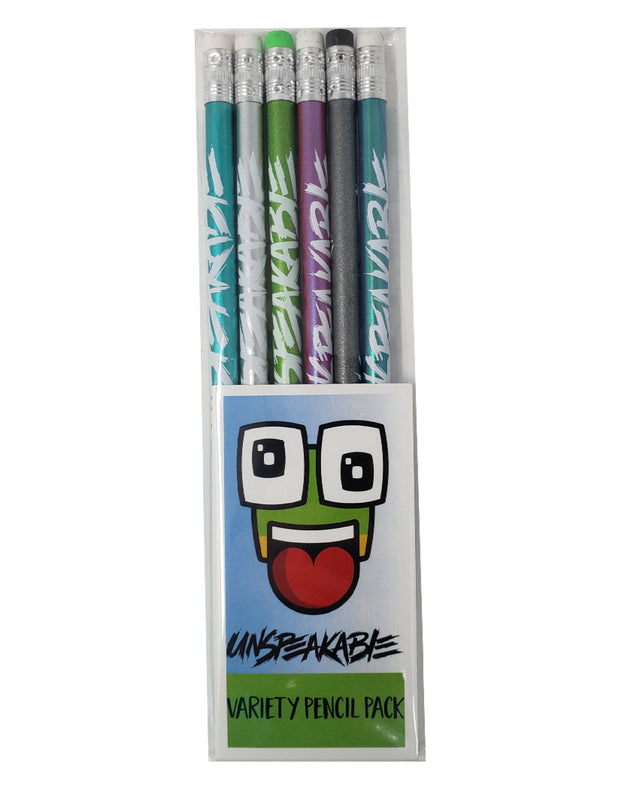 UNSPEAKABLE ILLUSION PENCIL PACK - Unspeakable Merchandise
