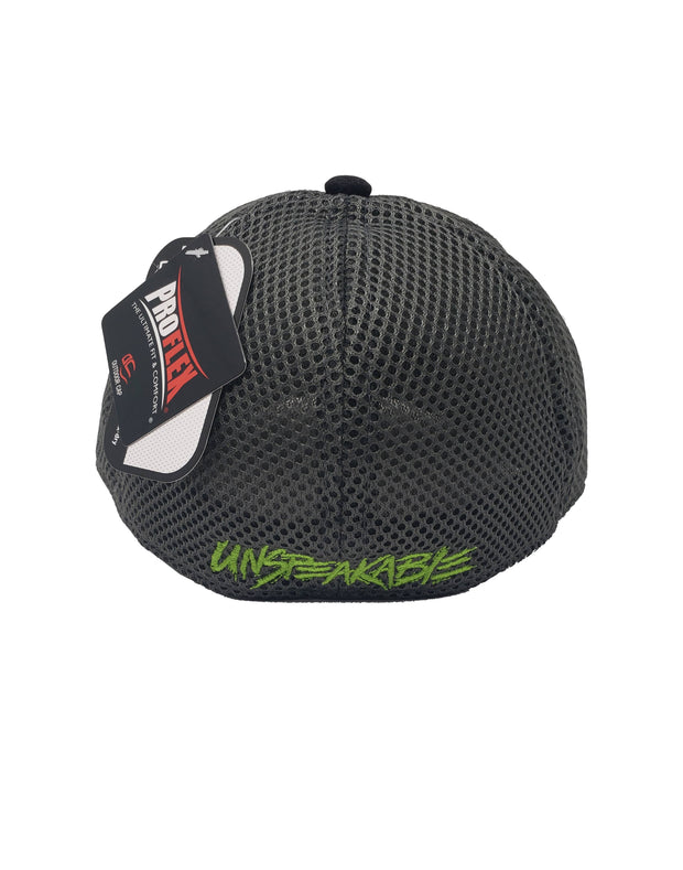 CROUCHING ICON LIME HAT - Unspeakable Merchandise