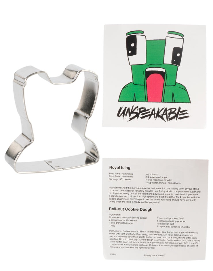 "3"" x 2 3/4"" COOKIE CUTTER - Unspeakable Merchandise"