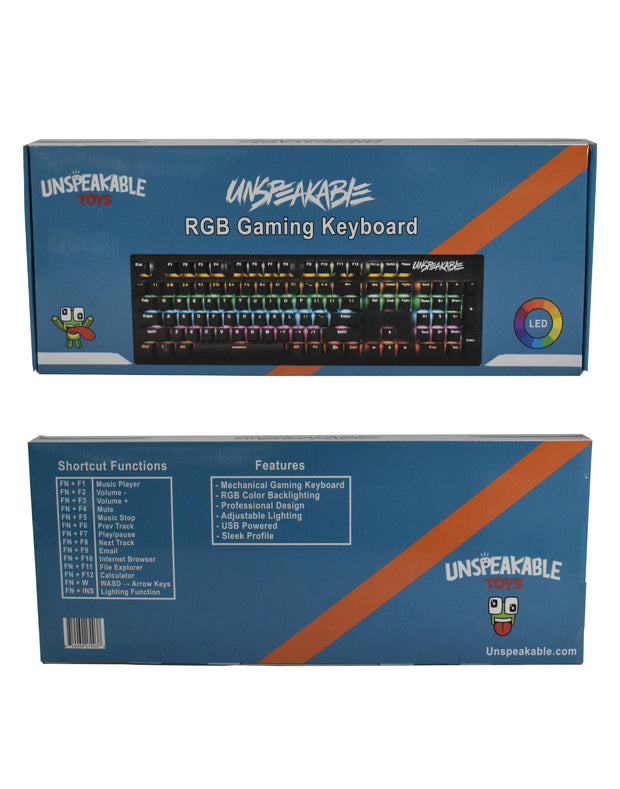 UNSPEAKABLE KEYBOARD - UnspeakableGaming