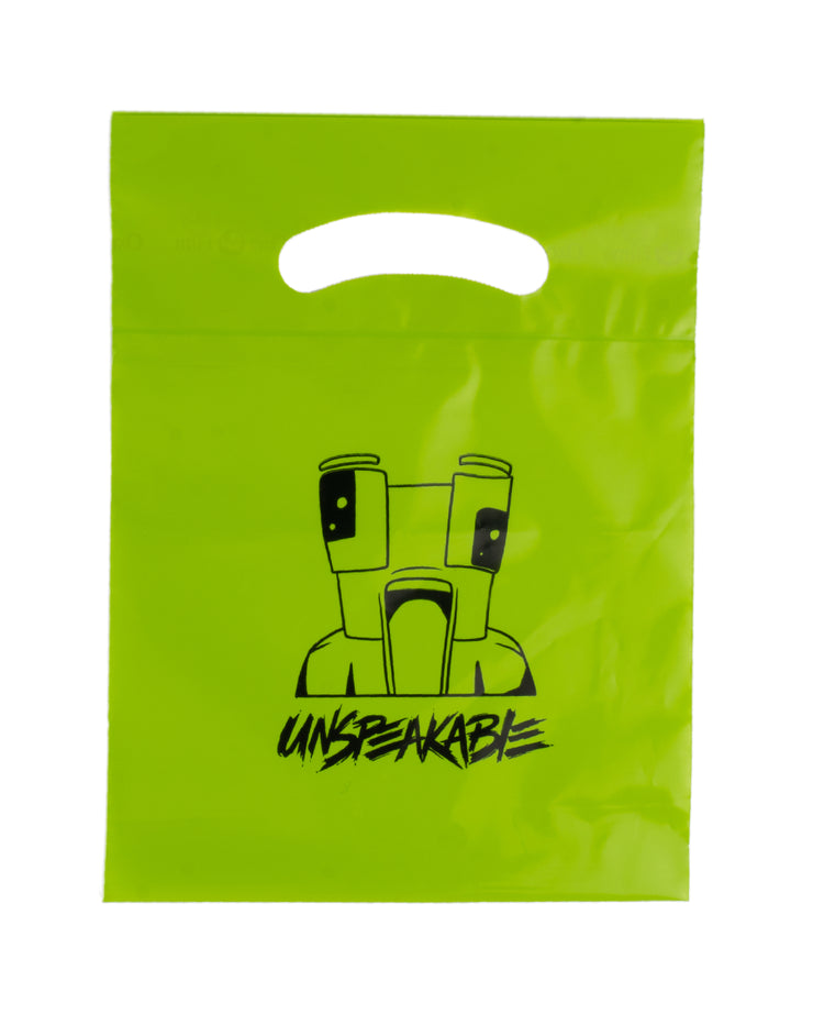 "7.5"" x 10"" GOODY BAG - 10 PACK - Unspeakable Merchandise"