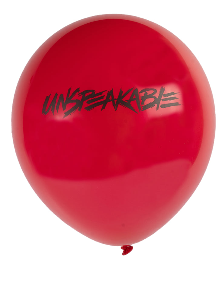 "10"" LATEX BALLOON - Unspeakable Merchandise"