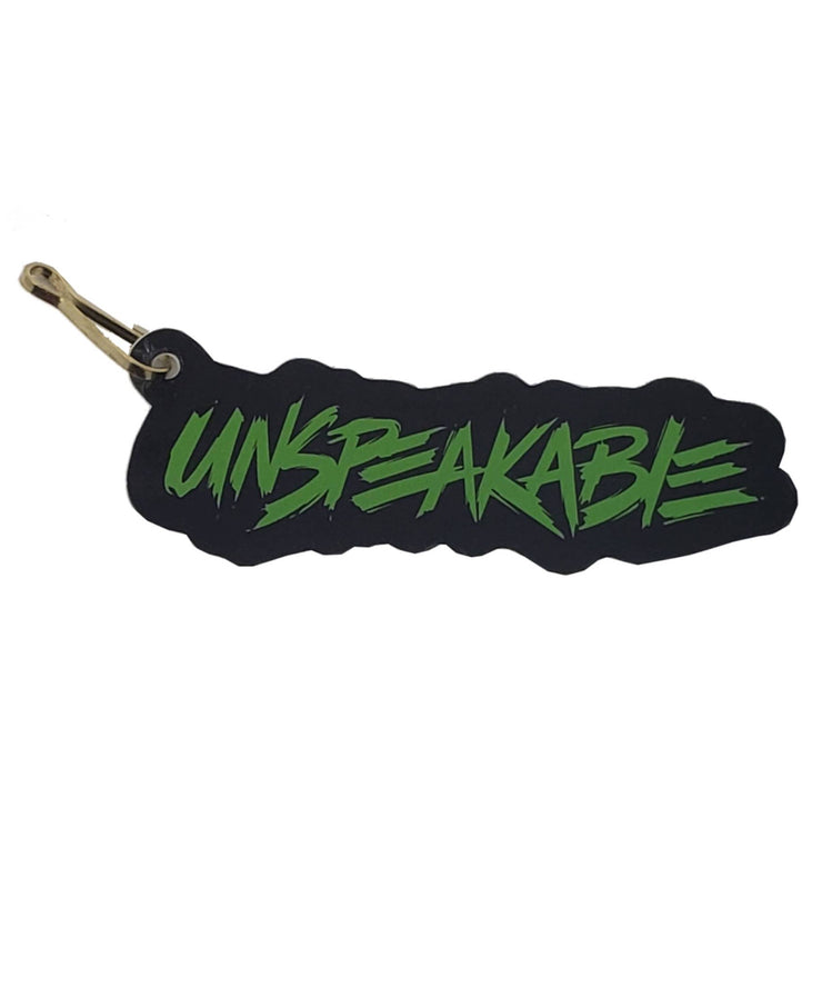 UNSPEAKABLE ZIPPER PULL - Unspeakable Merchandise