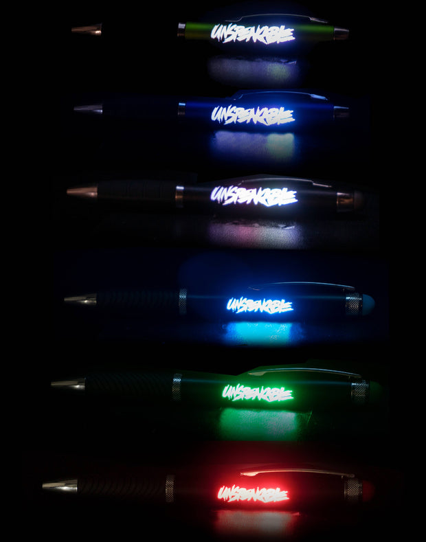LIGHT UP STYLUS PEN - Unspeakable Merchandise