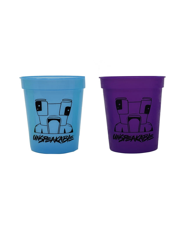 17 oz. TWO TONE STADIUM CUP - Unspeakable Merchandise