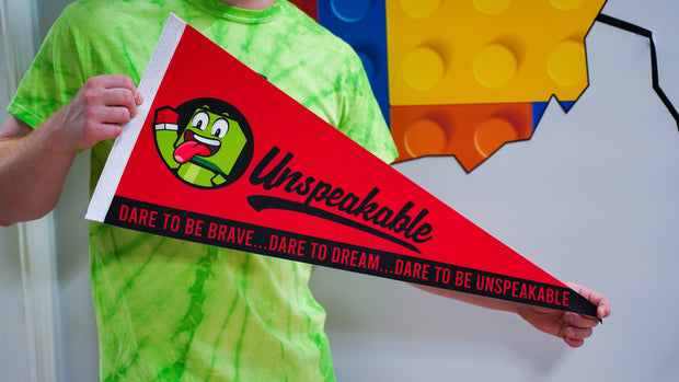 UNSPEAKABLE PENNANT - Unspeakable Merchandise